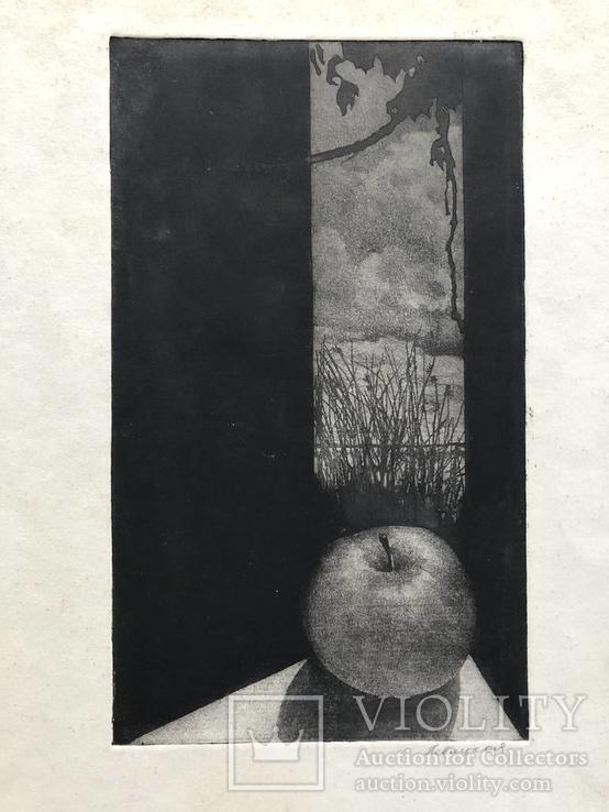 Генриетта Левицкая, графика
