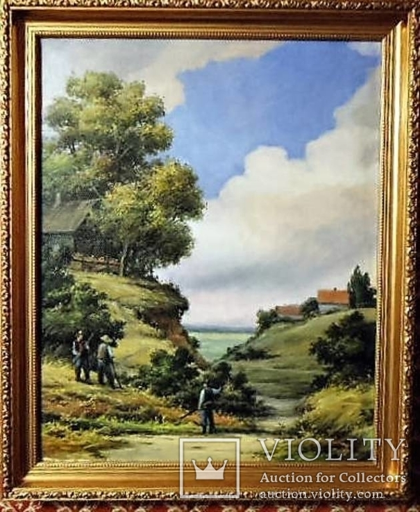 Картина, х/м 40х50 см. в деревянной раме. Автор: Mукомел Владимир (Mukomel).