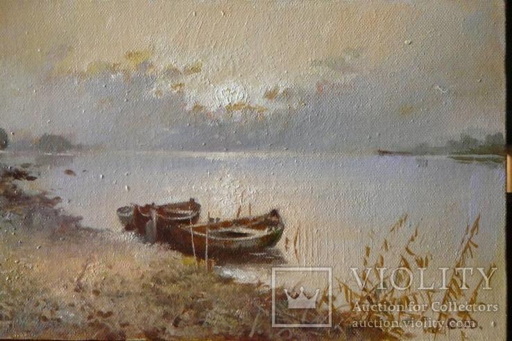 Пейзаж '' Човни ''