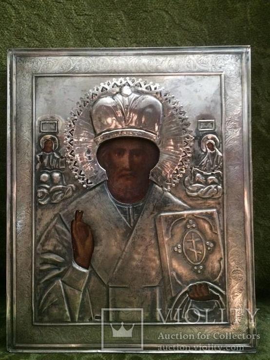 Святий Миколай 84проба 24х19.5см