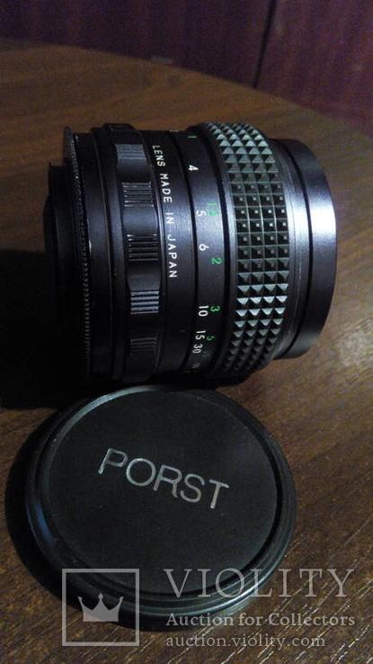 Porst Weitwinkel Auto 35mm f/2.8 с резьбой M42.