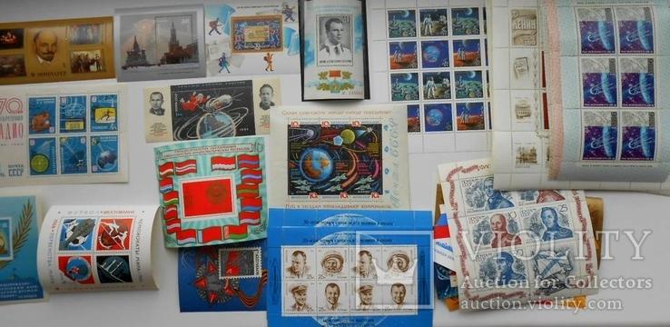 Почтовые блоки и малые листы СССР 81шт. разные без повторов.
