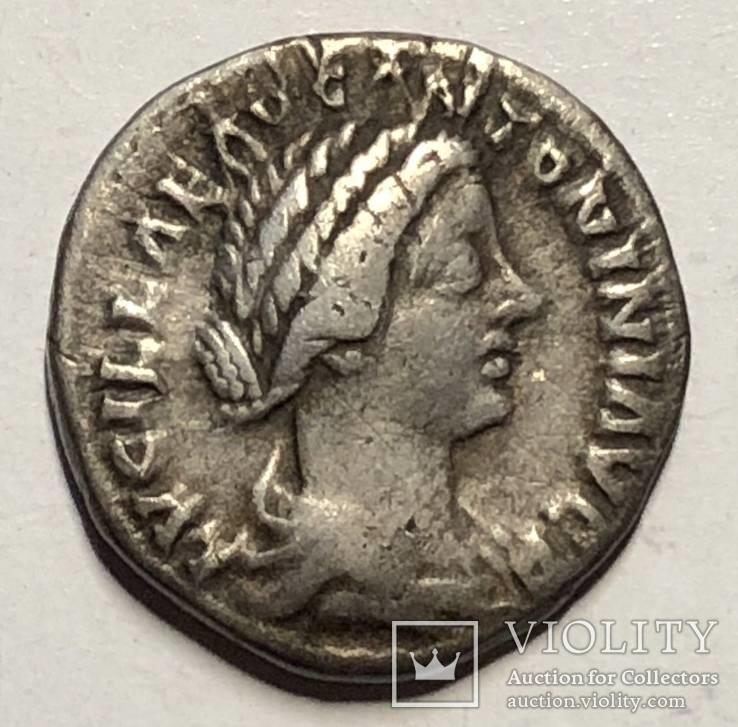 Луцилла, денарий, Diana Lucifera, R III