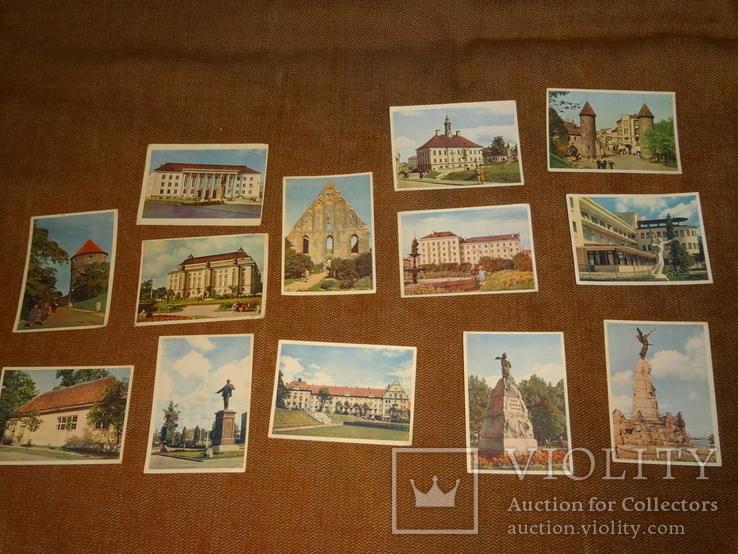 Подборка эстонских открыток