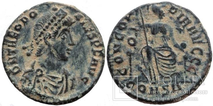 Феодосий I мон двор Constantinople 378-383 гг н.э. (75_83)