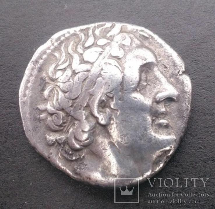 Птолемей І Сотер 323-282 до н. э. Тетрадрахма, серебро