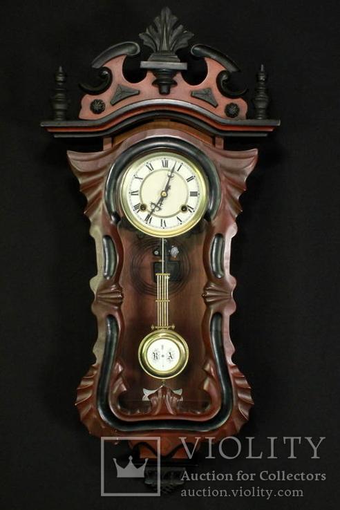 Настенные часы с заводом. Европа. (0776)