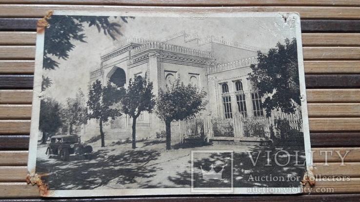 1311. Почтовая карточка,Кишинёв.Здание Краеведческого Музея 1947год