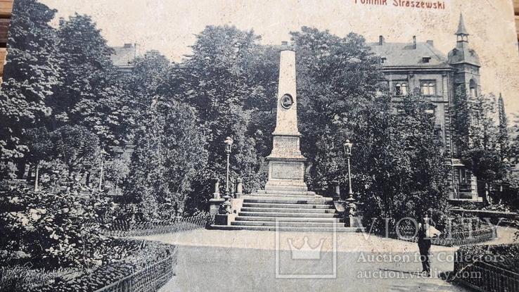 1310. Почтовая карточка, Краков.Памятник Страшевски, фото №3
