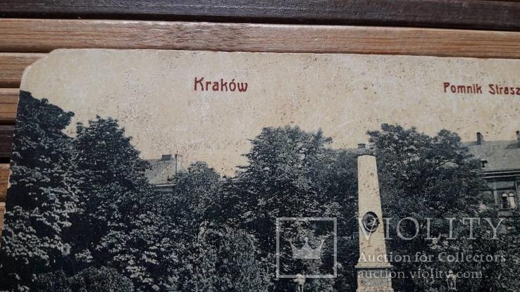 1310. Почтовая карточка, Краков.Памятник Страшевски, фото №4