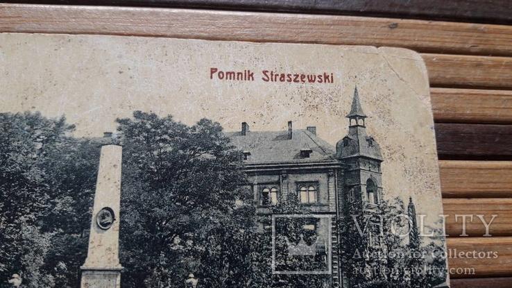 1310. Почтовая карточка, Краков.Памятник Страшевски, фото №5
