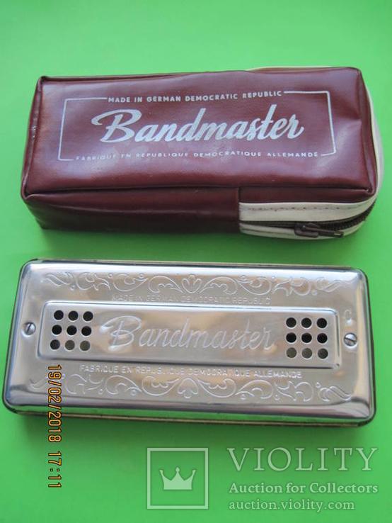 Губная гармошка. Bandmaster. Германия, фото №2