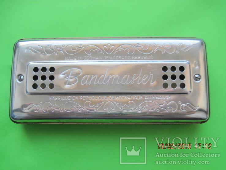 Губная гармошка. Bandmaster. Германия, фото №5