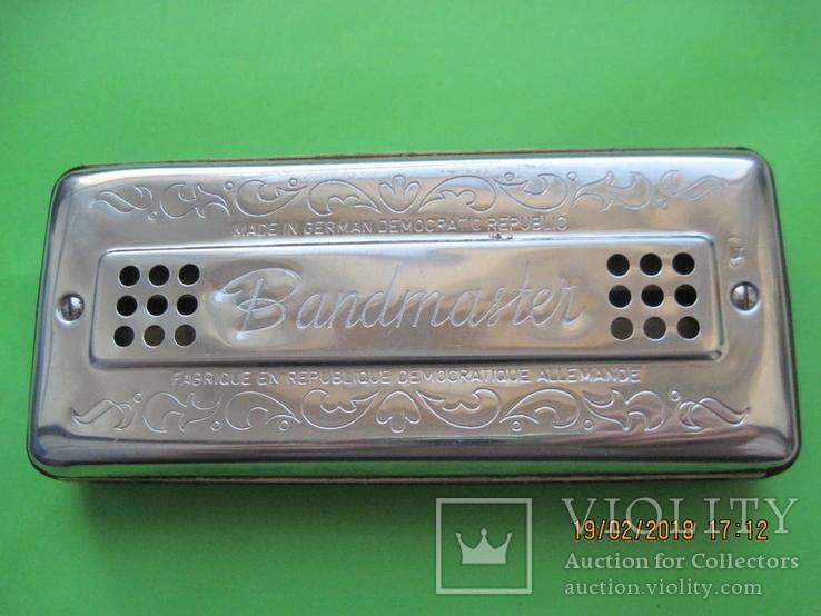 Губная гармошка. Bandmaster. Германия, фото №7