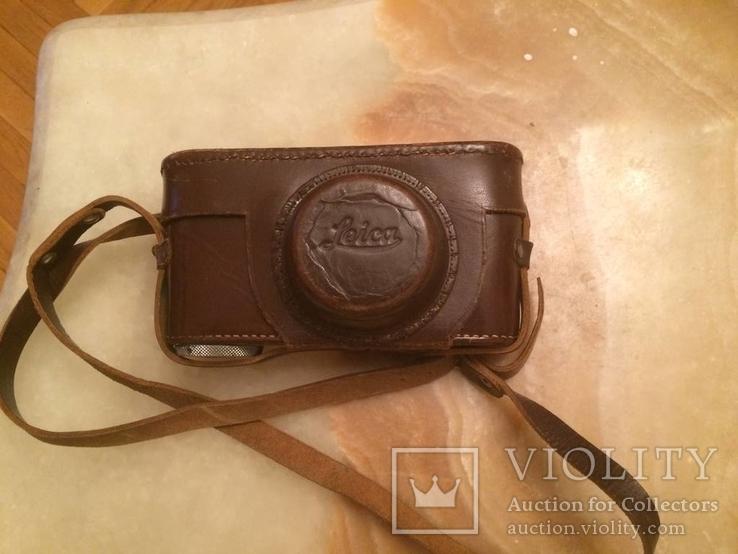 Фотоаппарат LEICA D.R.P. военный номерной с комплектом объективов в отличном состоянии, фото №3