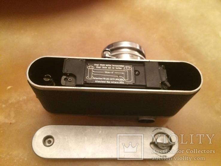 Фотоаппарат LEICA D.R.P. военный номерной с комплектом объективов в отличном состоянии, фото №8