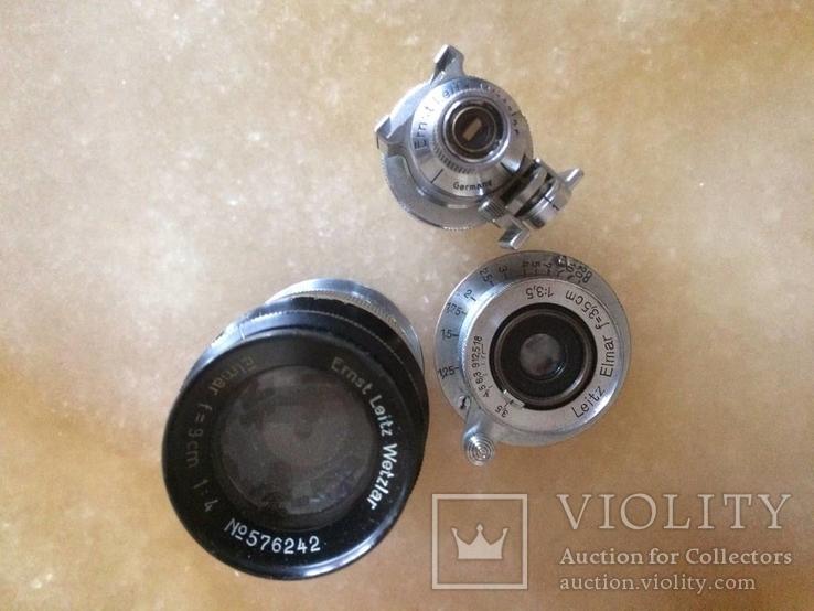 Фотоаппарат LEICA D.R.P. военный номерной с комплектом объективов в отличном состоянии, фото №14