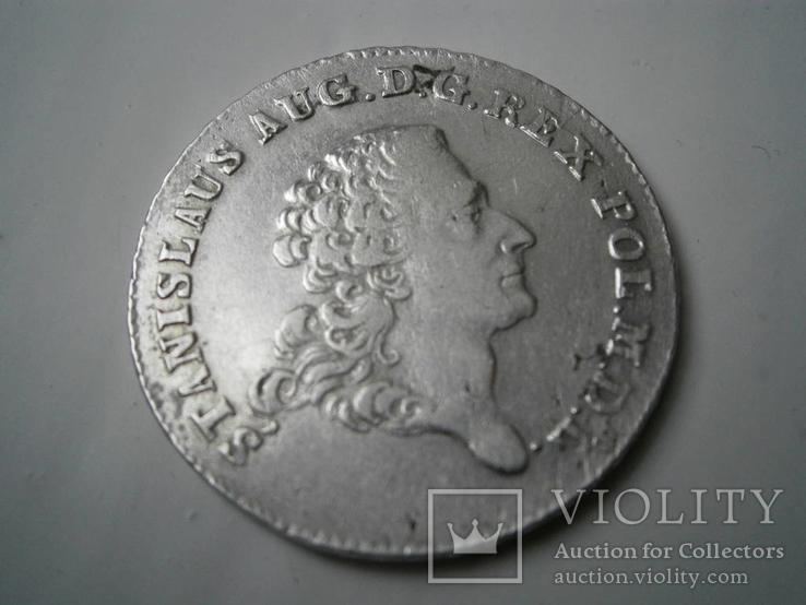 8 грошей серебряных - 2 злотых. 1768. Станислав Август I.S.