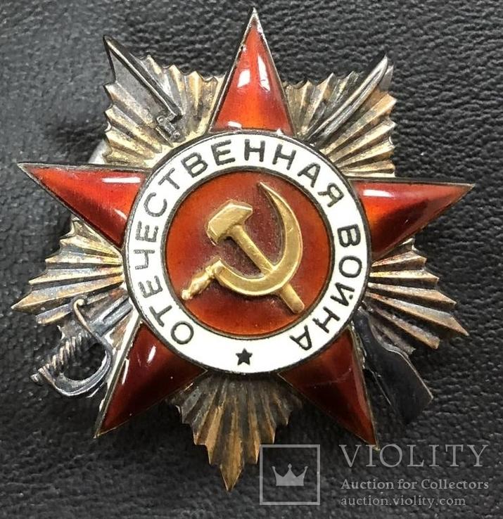 Боевой орден Отечественной войны 1 ст. № 113654