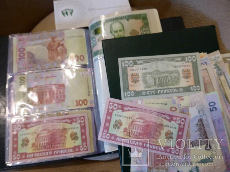 2 набора НБУ: альбом и конверт набір 20 років грошовій реформі 20 лет денежной кляссер