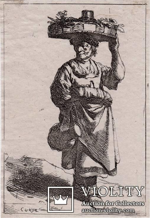 Корнелус Питерс Бега, коллекция гравюр
