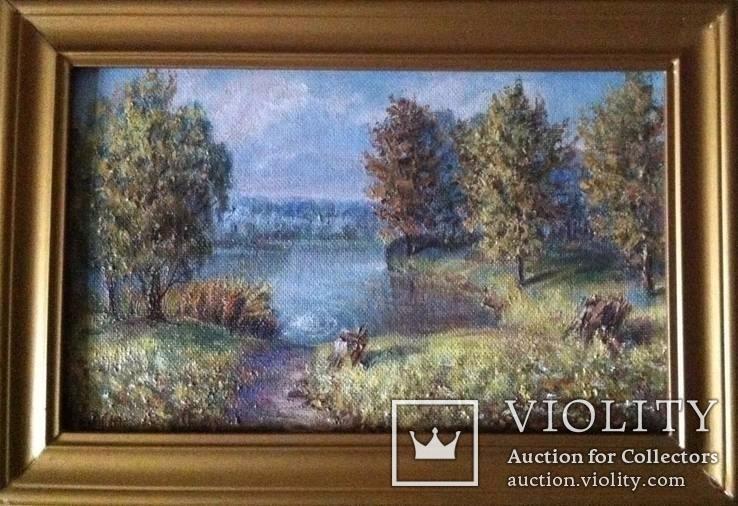 Картина Народного художника Навроцкого 400х250