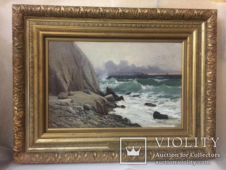 Морской Пейзаж. Алисов Михаил Александрович (1859—1933)