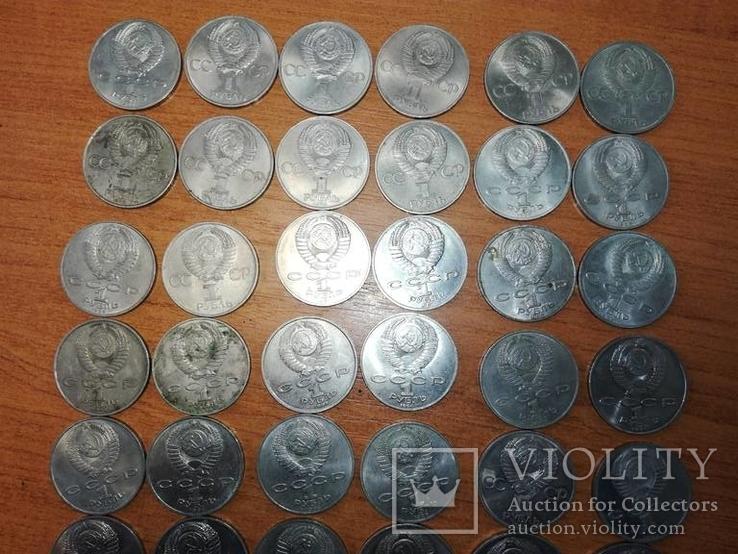 Рубли СССР 37шт все разные., фото №3