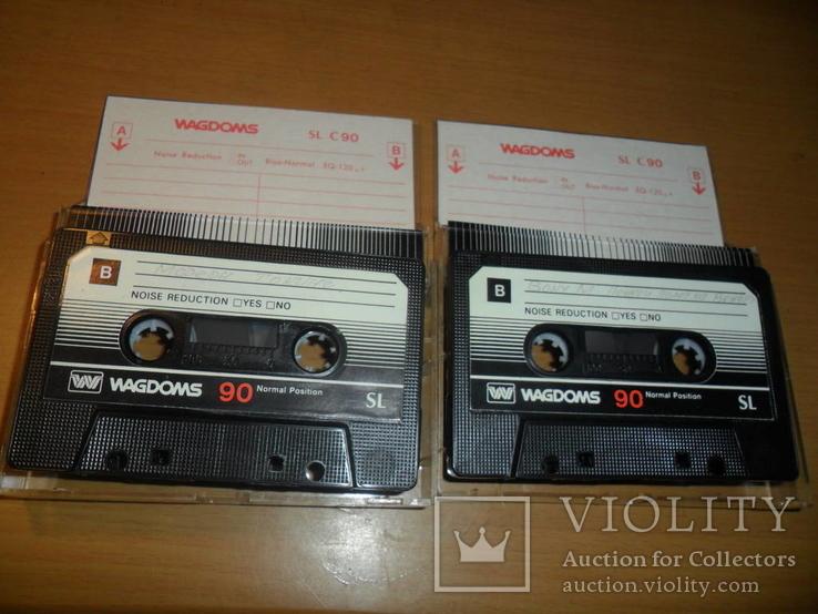 Аудиокассета кассета Wagdoms SL 90 - 2 шт в лоте, фото №3