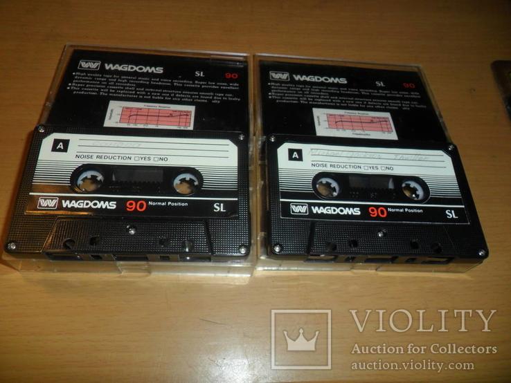 Аудиокассета кассета Wagdoms SL 90 - 2 шт в лоте, фото №4