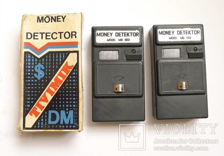 Два старых детектора валют 90-х гг. TiViMiK. Родная упаковка