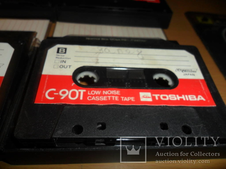 Аудиокассета кассета TOSHIBA C-90T Japan - 4 шт в лоте, фото №5