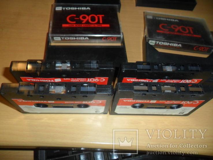 Аудиокассета кассета TOSHIBA C-90T Japan - 4 шт в лоте, фото №8