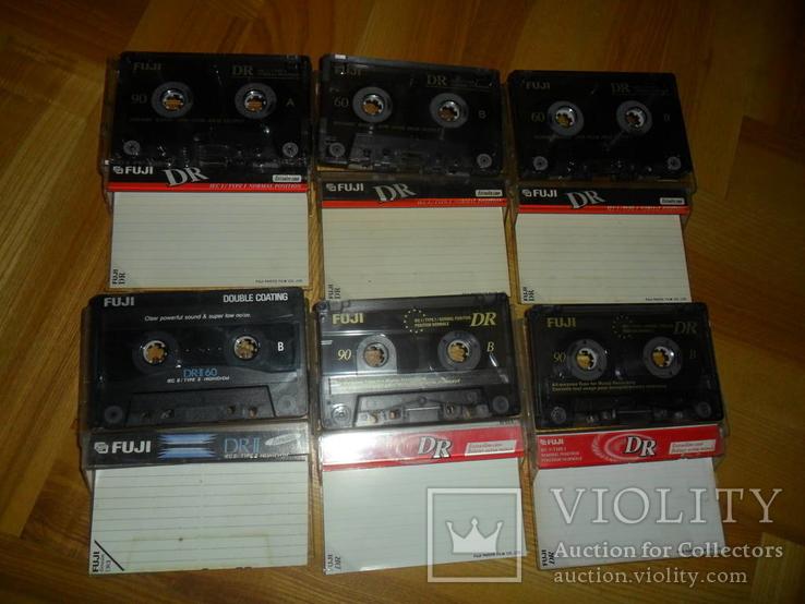 Аудиокассета кассета FUJI 90 И 60  - 6 шт в лоте кассеты аудио, фото №2
