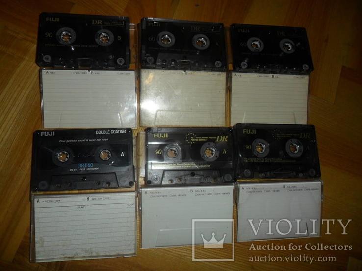 Аудиокассета кассета FUJI 90 И 60  - 6 шт в лоте кассеты аудио, фото №3