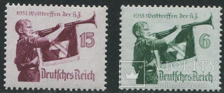 3-й Рейх Германия, MNH