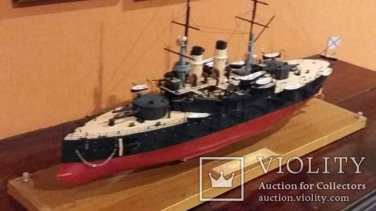 Модель броненосца Сисой Великий, фото №3