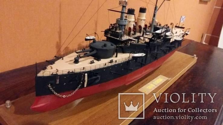 Модель броненосца Сисой Великий, фото №4