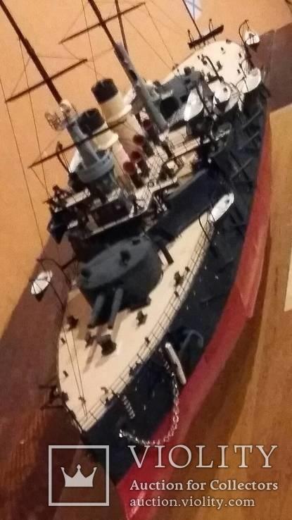 Модель броненосца Сисой Великий, фото №5