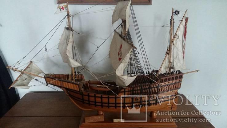 Модель Каравеллы Колумба Hao Santa Maria, фото №2