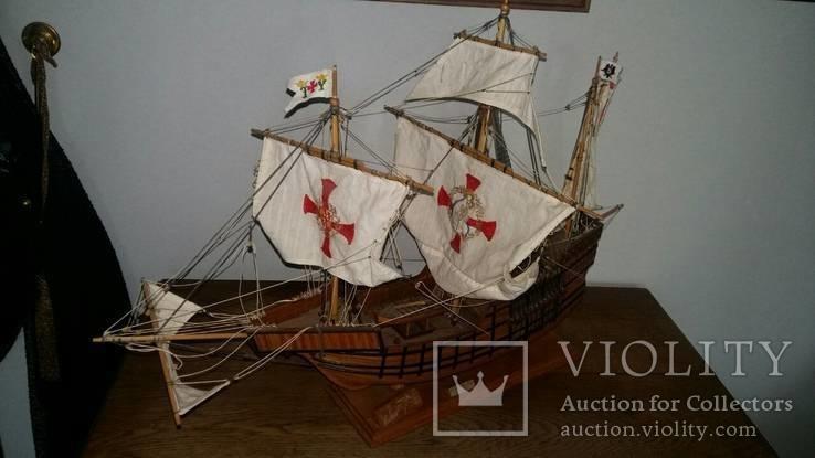 Модель Каравеллы Колумба Hao Santa Maria, фото №5