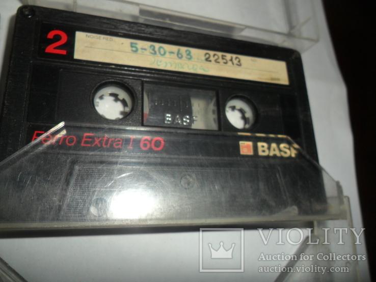 Аудиокассета кассета Basf Ferro Extra I 90 и 60 - 6 шт в лоте, фото №3