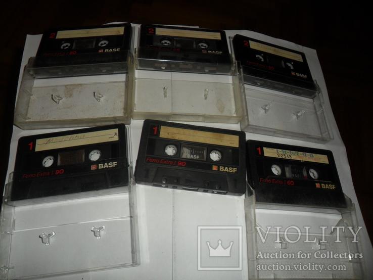 Аудиокассета кассета Basf Ferro Extra I 90 и 60 - 6 шт в лоте, фото №6