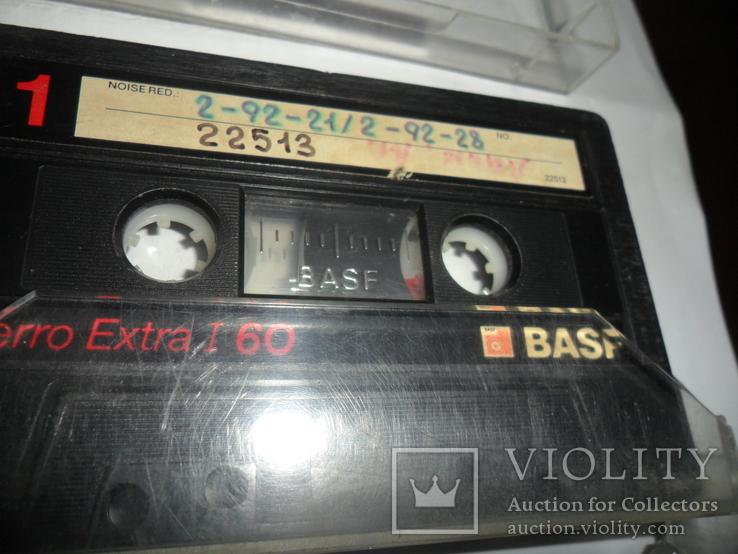 Аудиокассета кассета Basf Ferro Extra I 90 и 60 - 6 шт в лоте, фото №7