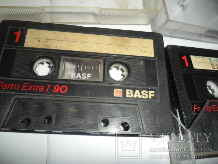 Аудиокассета кассета Basf Ferro Extra I 90 и 60 - 6 шт в лоте, фото №8
