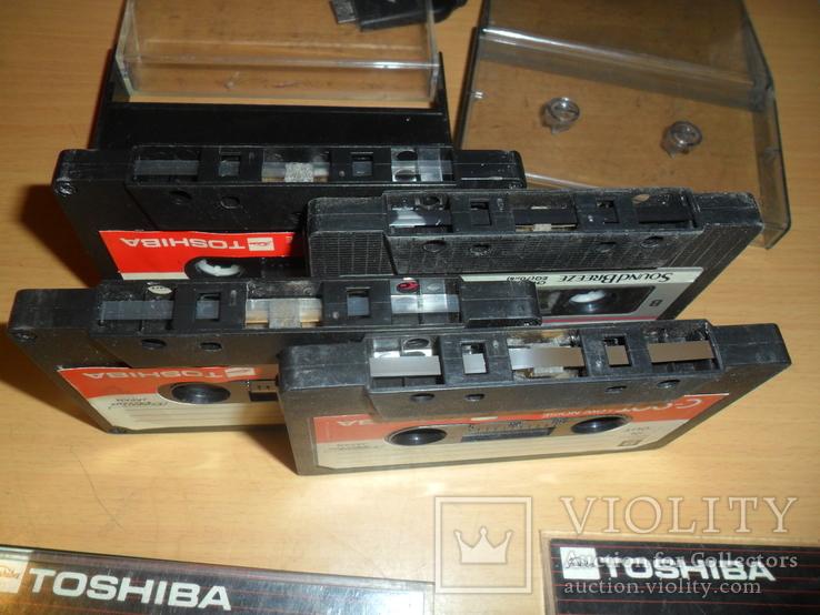 Аудиокассета кассета TOSHIBA C-90T и SoundBreeze CR-90 - 4 кассеты в лоте, фото №5