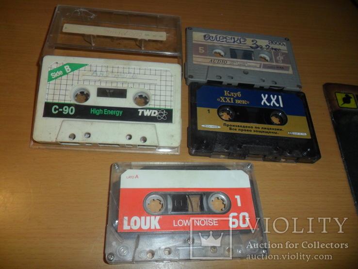 Аудиокассета кассета Twd,Bias,Louk,Клуб 21 век - 4 шт в лоте, фото №3