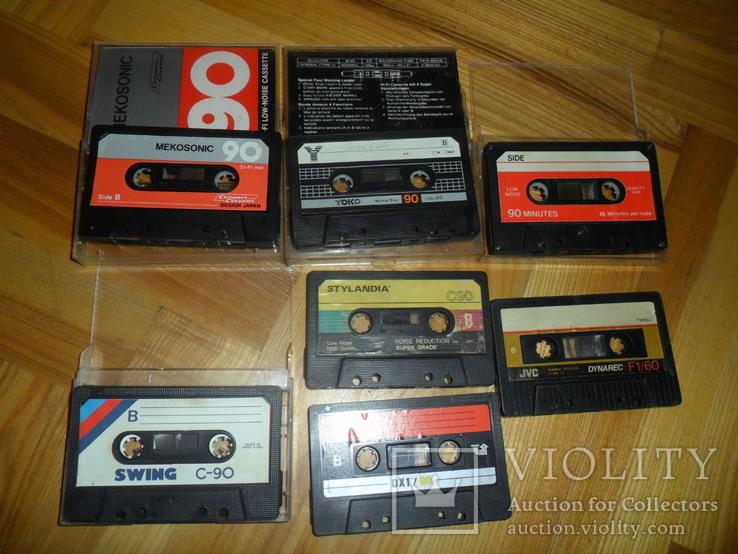 Аудиокассета кассета  SWING YOKO JVC STYLANDIA DX1 MEKOSONIC - 7 шт в лоте, фото №3