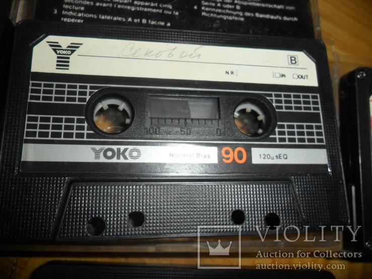 Аудиокассета кассета  SWING YOKO JVC STYLANDIA DX1 MEKOSONIC - 7 шт в лоте, фото №6