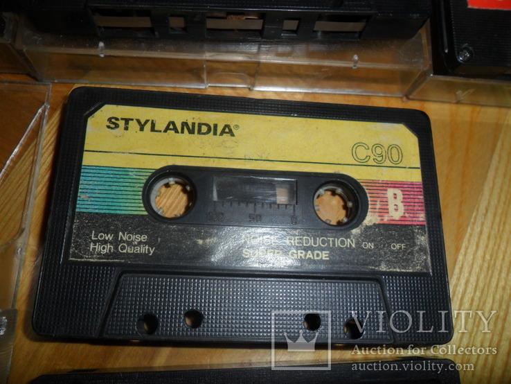 Аудиокассета кассета  SWING YOKO JVC STYLANDIA DX1 MEKOSONIC - 7 шт в лоте, фото №9